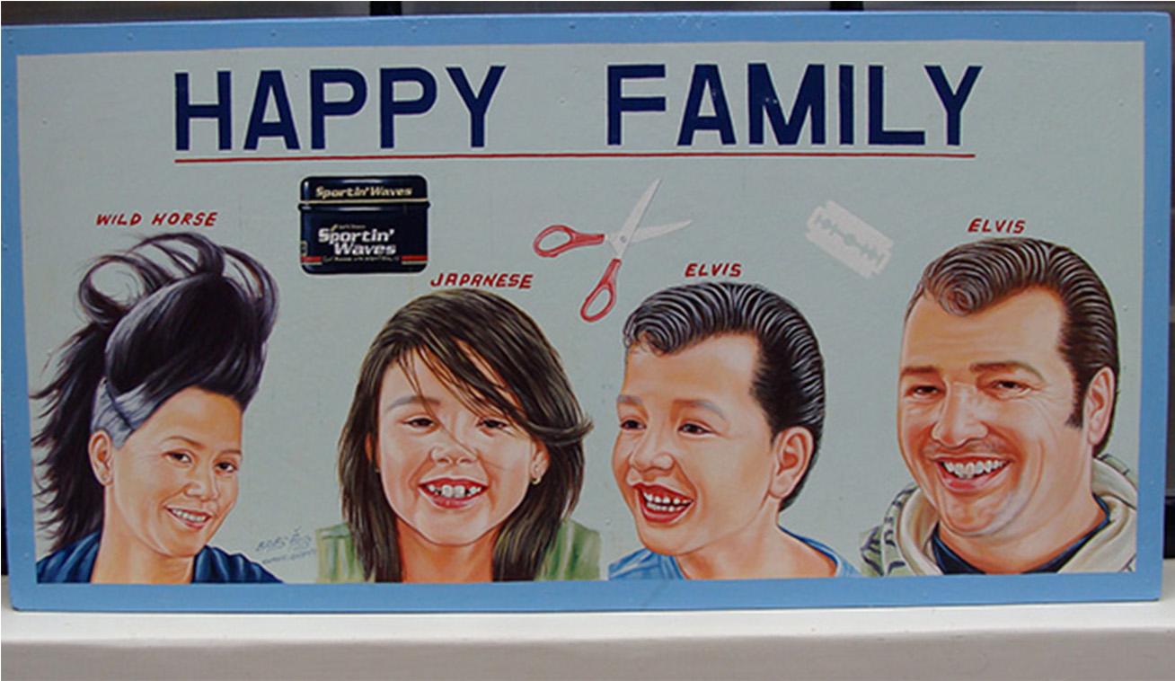 Signboard Barbershop